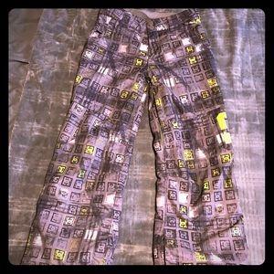 🌨🏂EUC boys DC snowboarding pants size med❄️